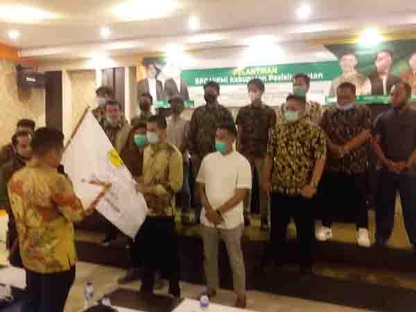 BPC HIPMI Pessel Dilantik, Pungki: Bersama Bangun Ekonomi serta UMKM