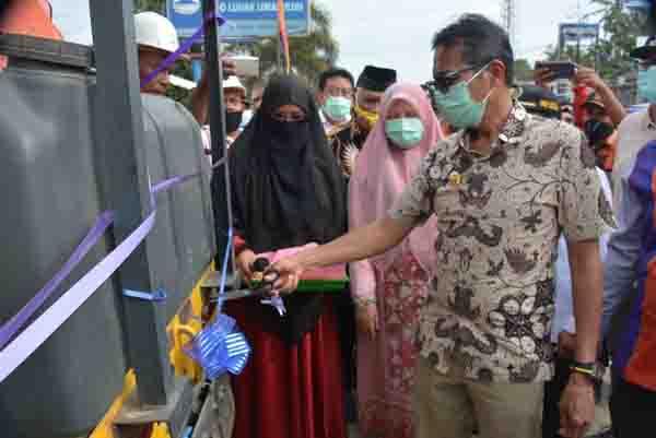 Resmikan Perbaikan Jalan Lareh Sago Halaban, IP: Truk Lebihi Tonase Merusak Jalan