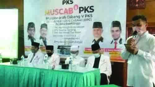 DPC PKS se-Bukittinggi Dikukuhkan