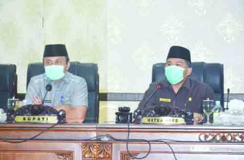 Bupati dan Wakil Bupati Agam Diusulkan Berhenti, DPRD Gelar Rapat Paripurna
