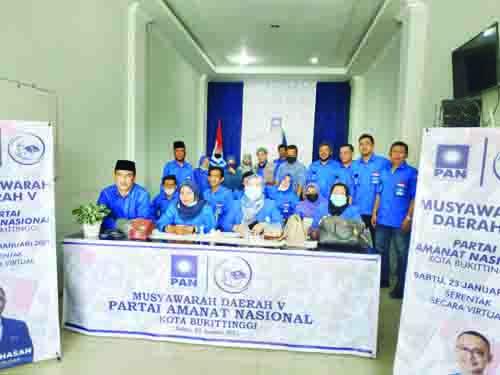 Rahmi Ketua PAN Bukittinggi