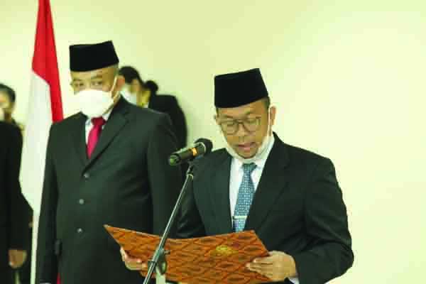 Sesjen DPD RI Lantik Lima Pejabat Fungsional