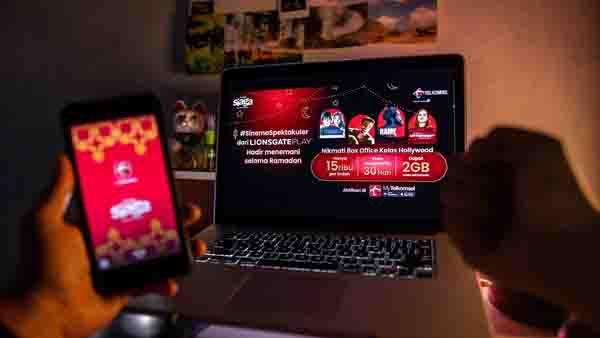 Telkomsel Hadirkan Paket Bundling Terbaik Layanan Lionsgate Play