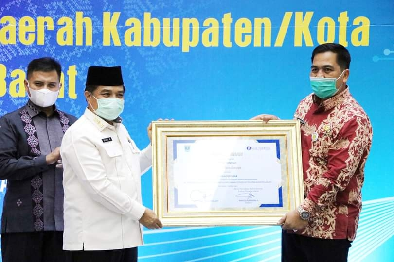 Raih Penghargaan Bank Sentra Republik Indonesia