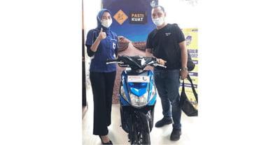 Bayar DP Rp 1 Jutaan, Bawa Pulang Yamaha Mio M3 di sumatra Barat