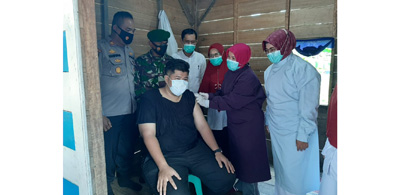 Gebyar Vaksinasi Meningkat Pesertanya di Kabupaten Padangpariaman