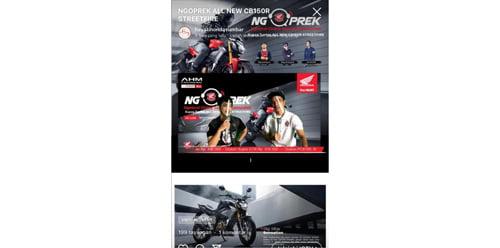 Honda Hayati Kupas Tuntas All New CB150R Streetfire Bersama HSFCI Padang