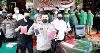 Sepekan, 16 Pelaku Pencurian Diciduk, 98 Unit Motor Hasil Curian bisa Diambil Pemiliknya di Kota Padang