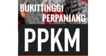 PPKM Bukittinggi Diperpanjang hingga 25 Juli